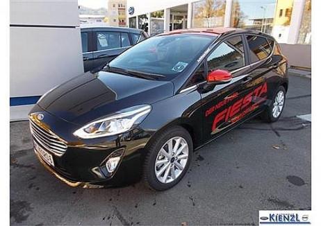Ford Fiesta 5T  Titanium 1,0BE 100PS  6.Gang Vorführwagen bei Neu- und Gebrauchtwagen bei Autohaus Kienzl in 8750 Judenburg – Murtal – Steiermark