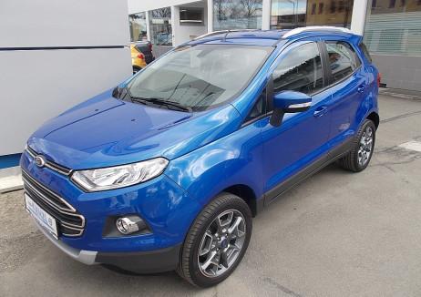 Ford EcoSport 1,0 EcoBoost Titanium bei BM || Autohaus Kienzl GmbH in