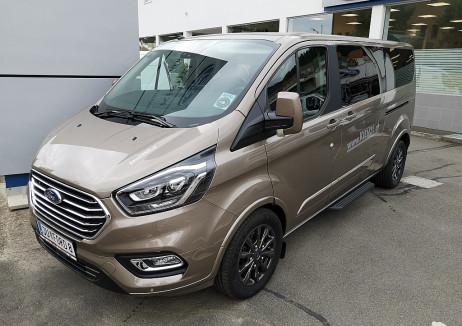 Ford Tourneo Custom 2,0 TD 170PS 310 L2 Titanium X Automatic Vorführwagen bei BM || Autohaus Kienzl GmbH in
