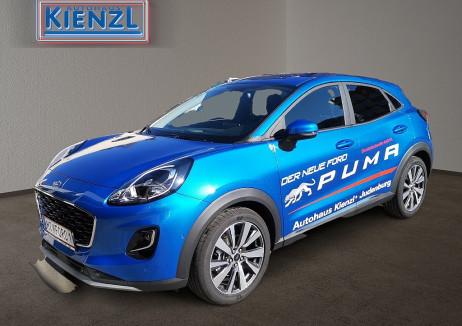 Ford Puma 1,0 EcoBoost 125PS  Titanium X LP: €30.038,- *VORFÜHRWAGEN* Aktion: € 26.240,- bei BM || Autohaus Kienzl GmbH in