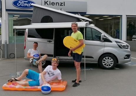 Ford Transit Custom Nugget 320 AD 2,0 EcoBlue 185PS L1H1 **NEUWAGEN** LP: € 81.388,- AKTION €64.979 bei BM    Autohaus Kienzl GmbH in